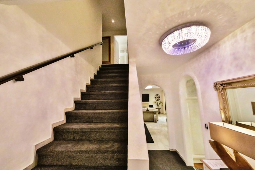 Stairs leading to upstairs in Kings Hill, Marbella